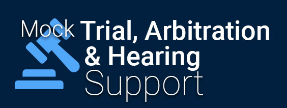 Trial, Arbitration and Hearing